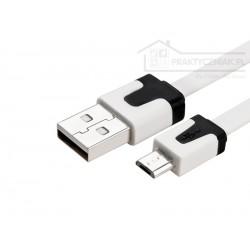 Kabel USB - micro USB, nieplączący
