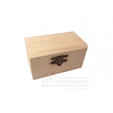 Pudełko drewniane małe (decoupage)