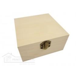 Pudełko drewniane, skrzynka (decoupage)