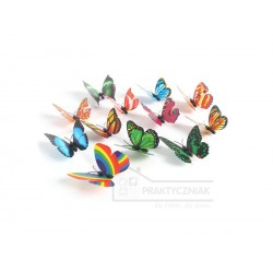 """Magnes na lodówkę """"Motylek"""" 3D"""