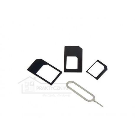 Zestaw adapterów Nano i Micro SIM