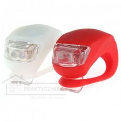 Lampki rowerowe LED - 2 sztuki
